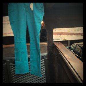 Ann Taylor Blue Denim Slim Leg Jeans.18170